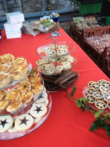 Christmas at the Jammy stall